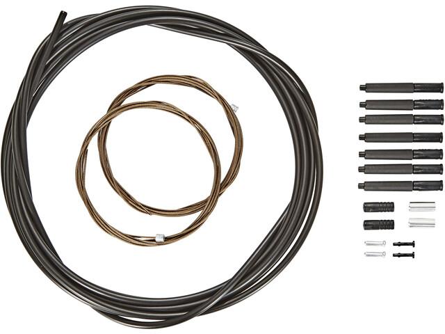 Shimano XTR schakelkabel MTB polymeercoating zwart